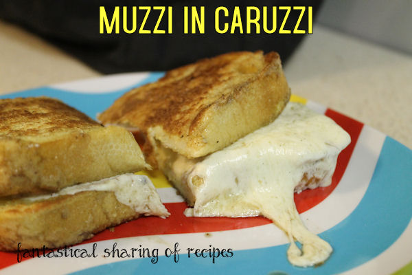 Muzzi in Caruzzi - grilled cheese meets French toast #sandwich