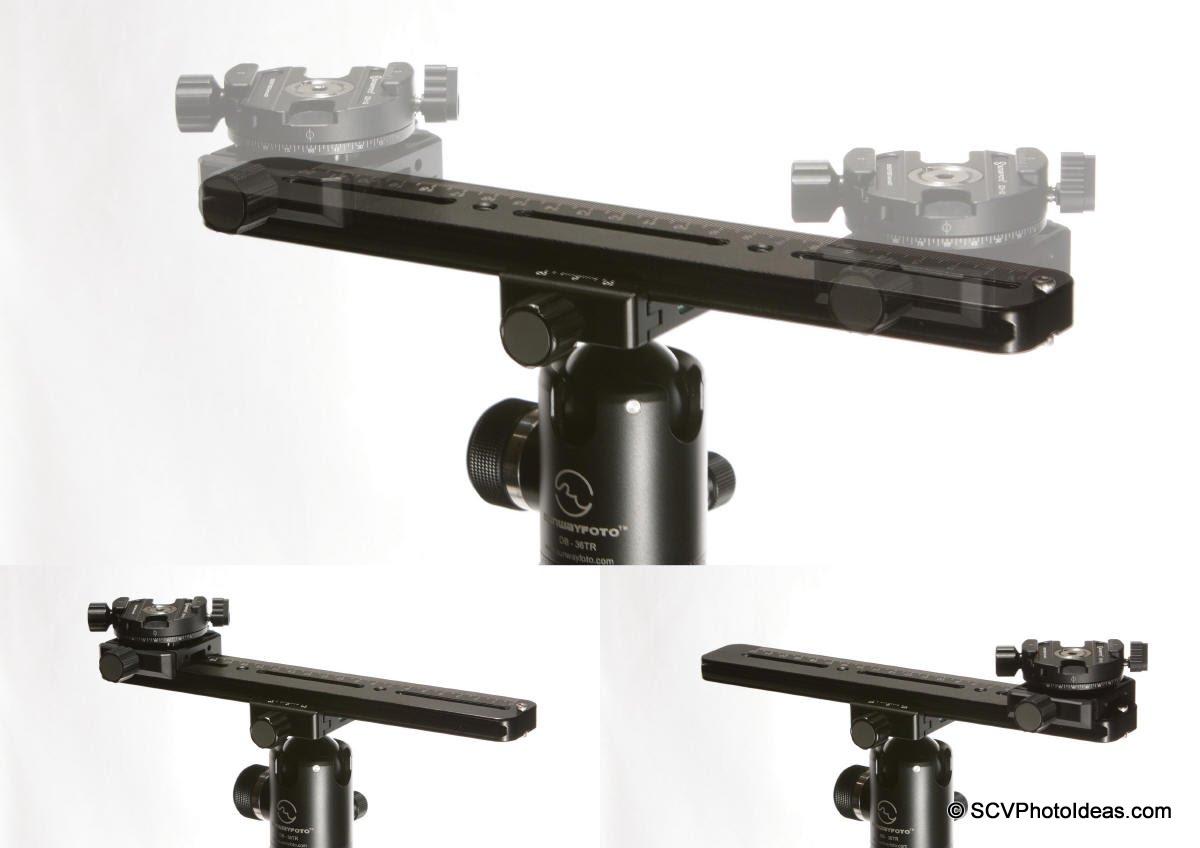 Sunwayfoto MPP-01 + DDH-02 + XB-44 stereo rig