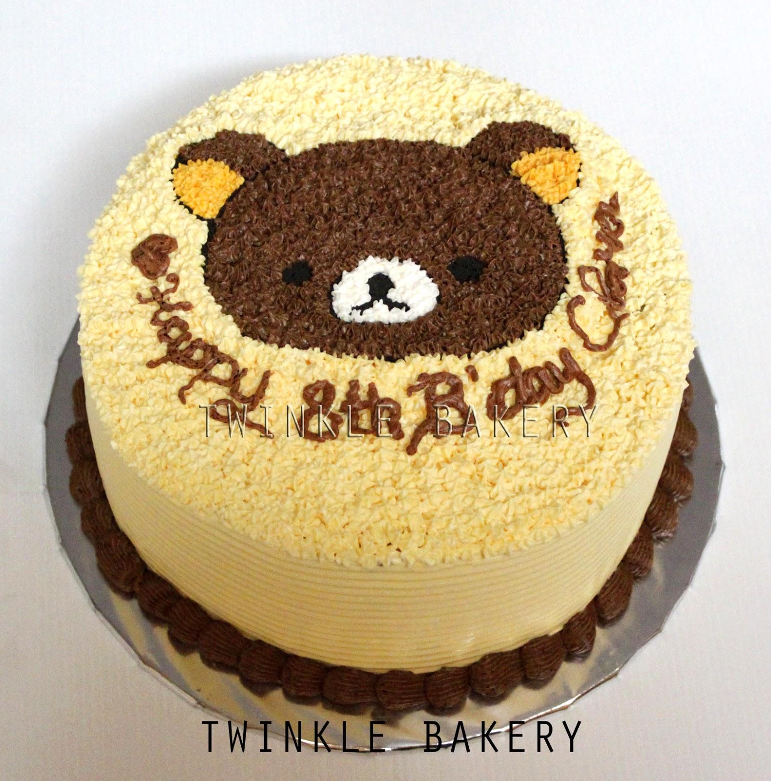 Twinkle Bakery Rilakkuma Cake