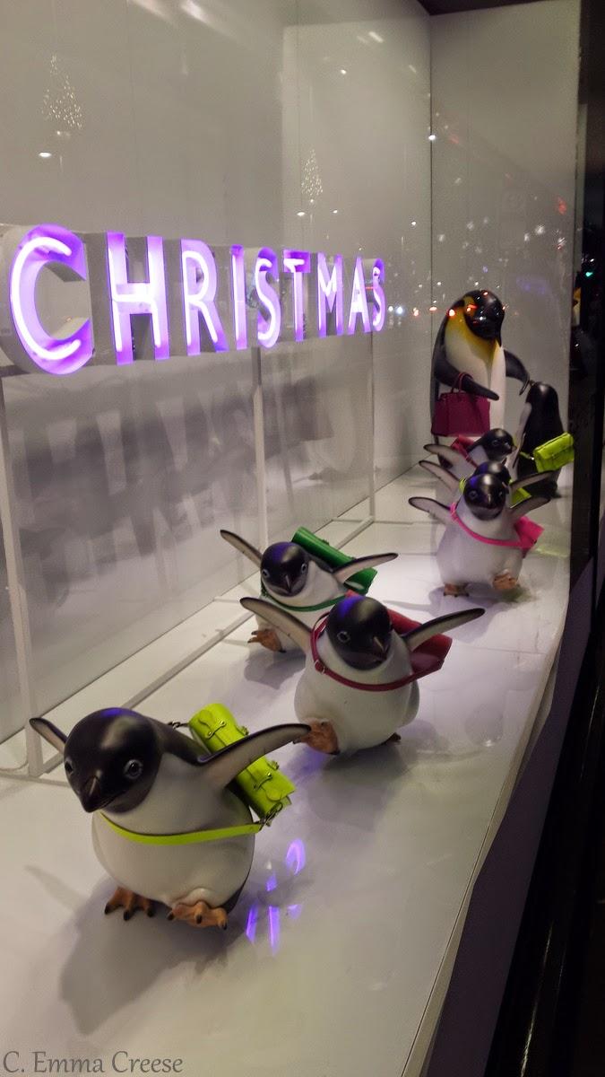 Monty the Penguin - John Lewis Christmas - Adventures of a London Kiwi