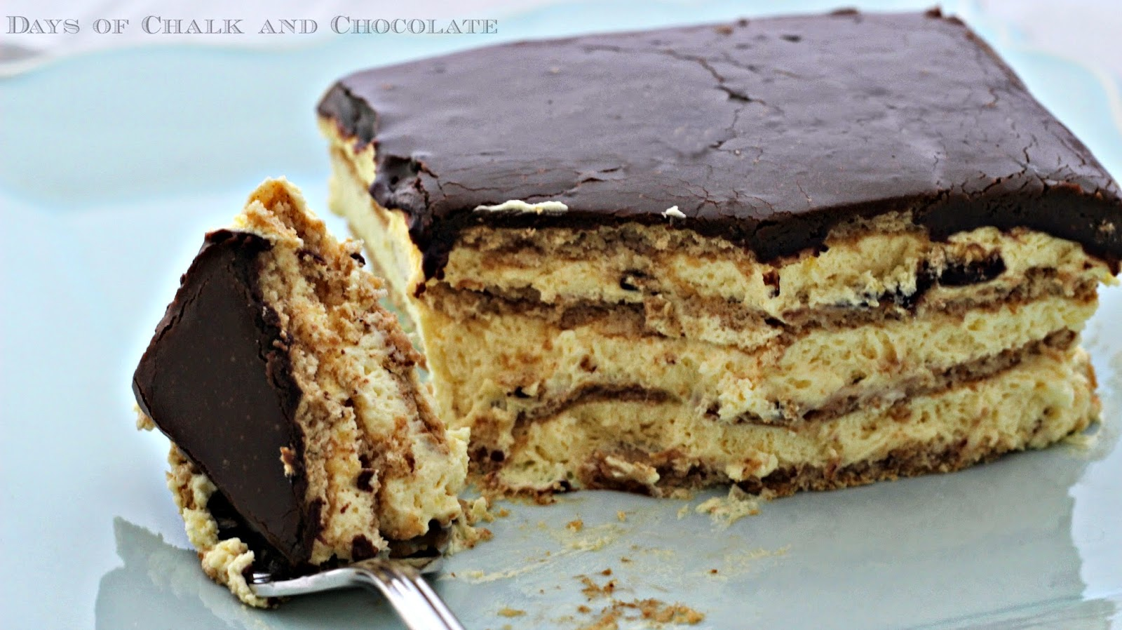 Eclair Cake Recipe | Days of Chalk and Chocolate