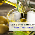 Top 5 Best Herbs For Acne Treatment