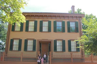 Hoorahoopti Away Lincoln Home National Historic Site