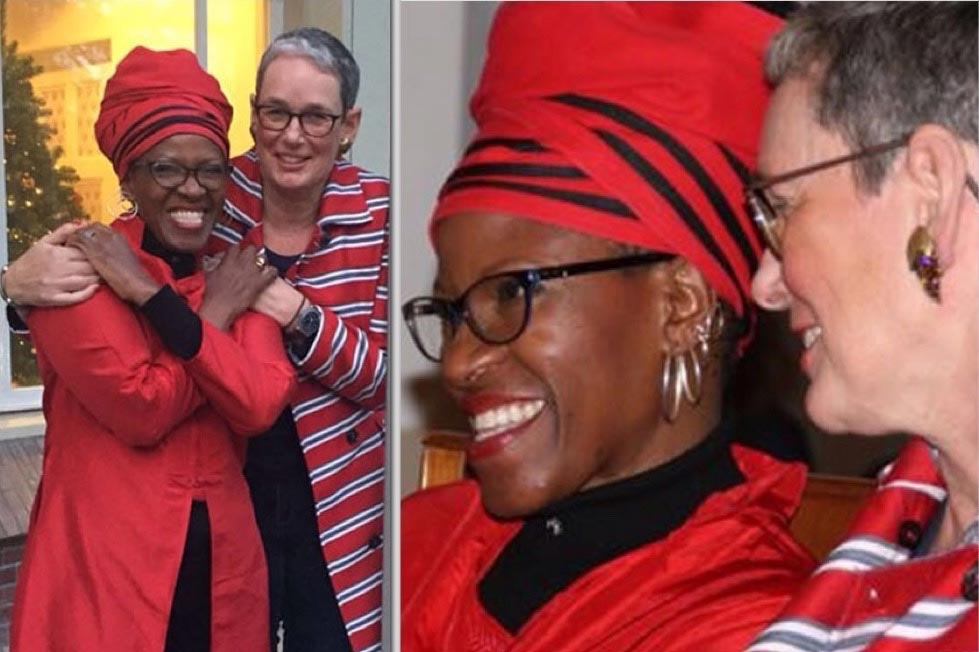 Archbishop Desmond Tutu's Lesbian Daughter Gets Married To Lesbian Partner (Photos)