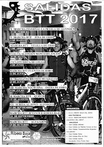 Calendario ribera 2017