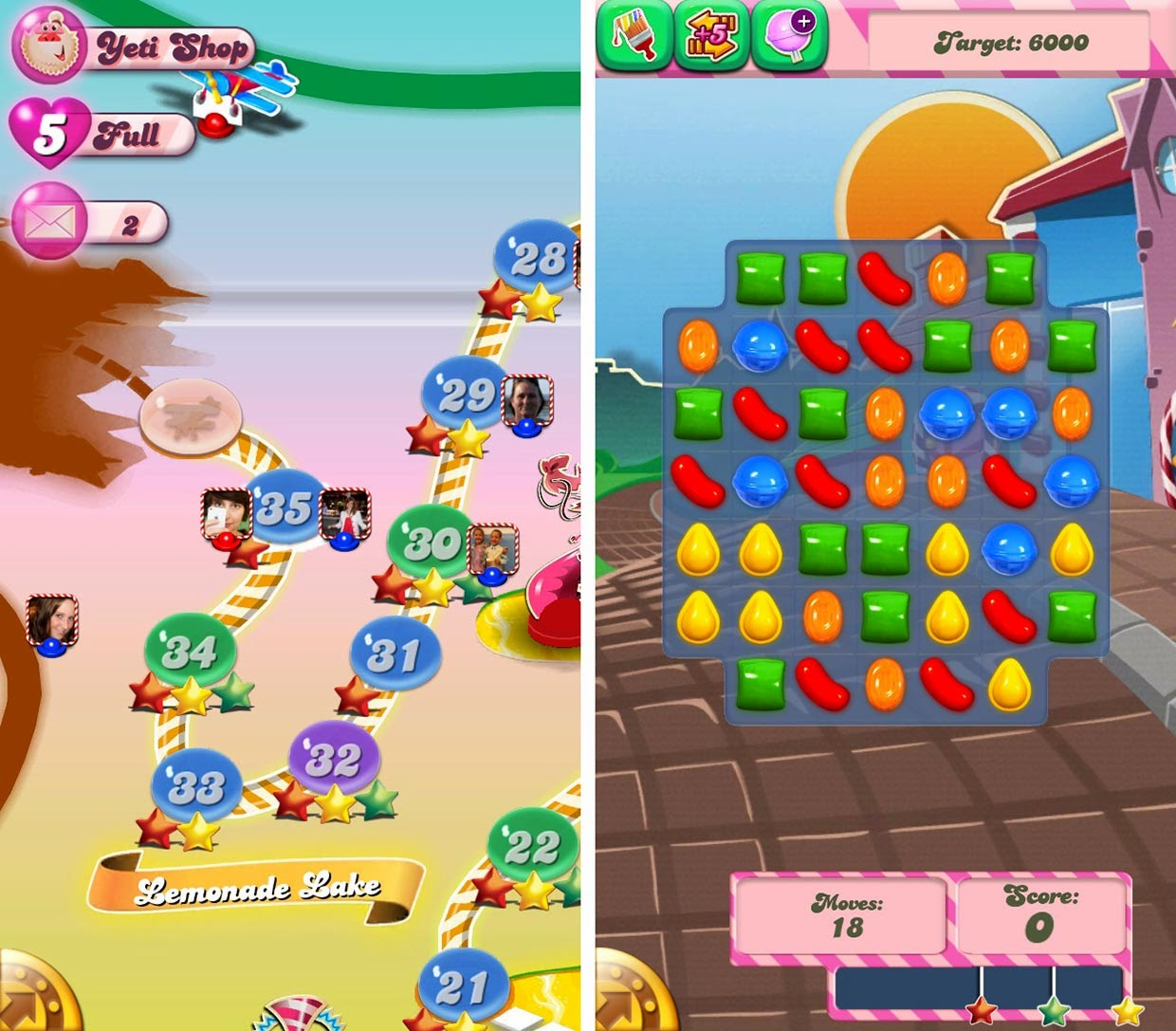 Candy Crush Saga iPhone screnshot