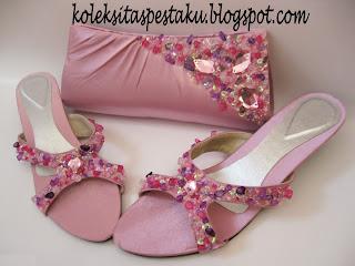 Koleksi Tas Pesta Mewah dan Murah Pink
