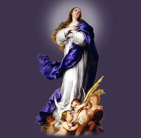 ...a la Inmaculada Concepción