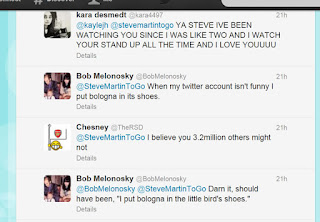 funny steve martin and bob melonosky