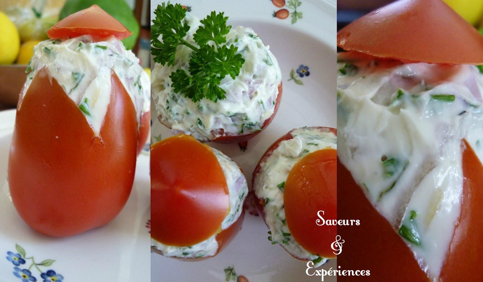 Tomates aux saveurs d 39 et blogs de cuisine for Entree fraicheur rapide