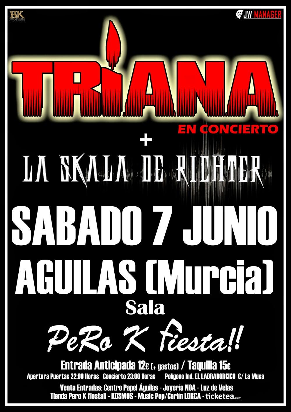 SÁBADO 7 JUNIO 2014 SALA PERO K FIESTA!! ÁGUILAS (Murcia)