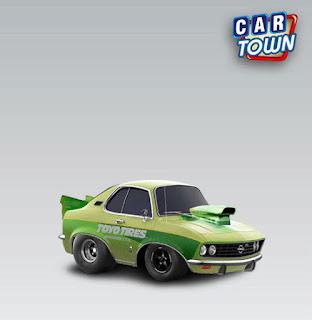 Opel Manta A 1970 Drag