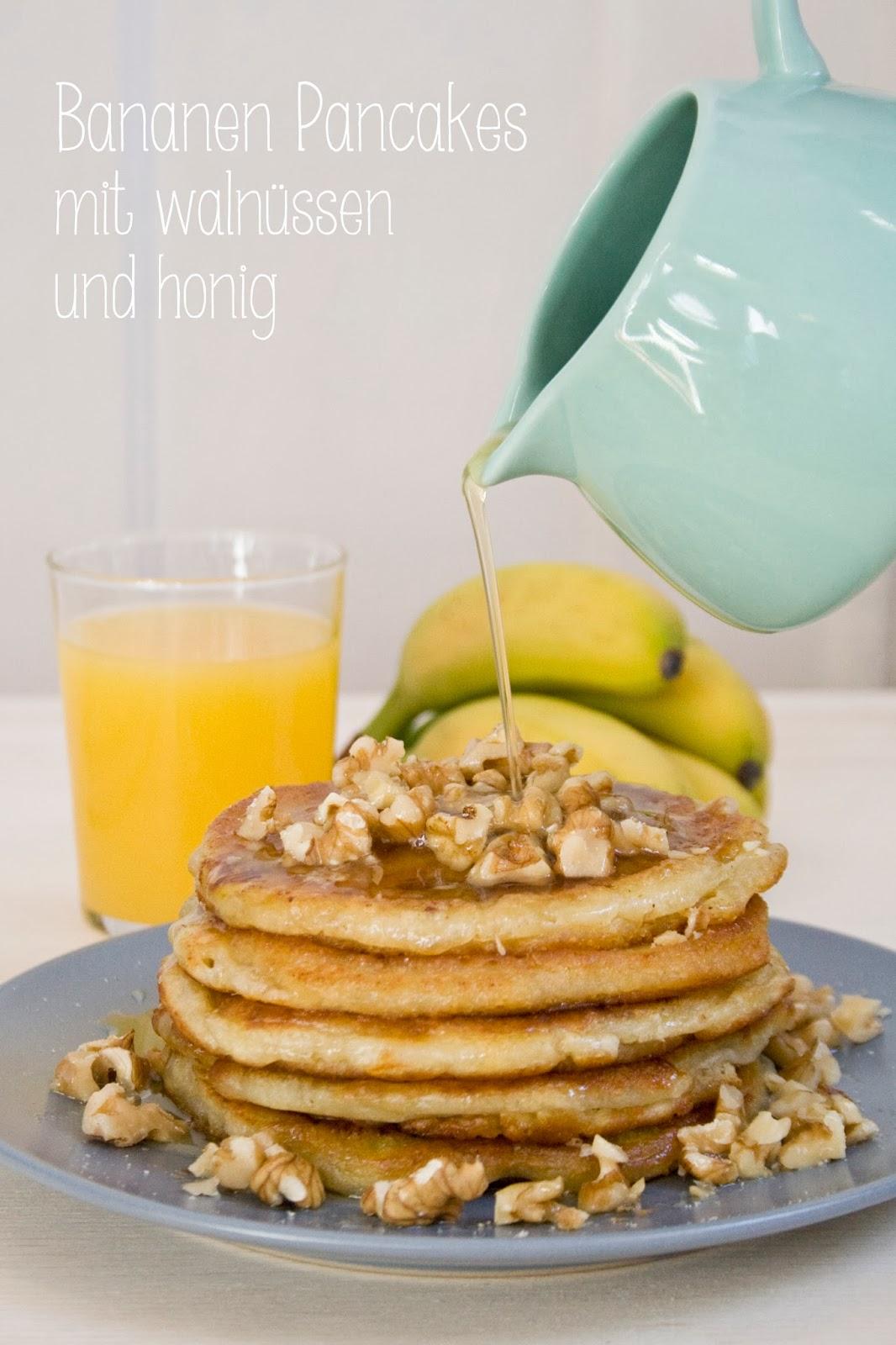 Bananen Pancakes aus Käts Start-up Küche