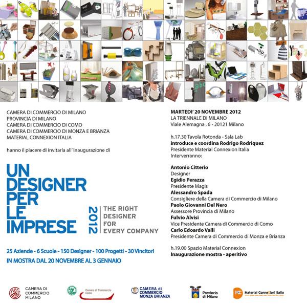 Liliana broussard opella a un designer per le imprese for Viale alemagna 6 milano
