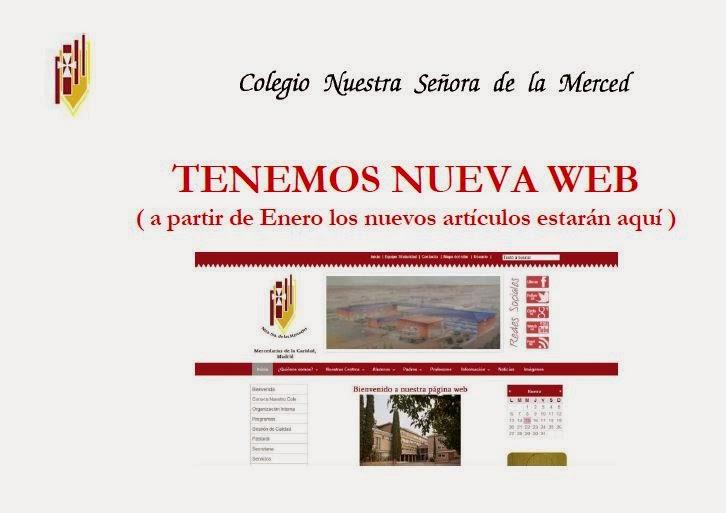 TENEMOS NUEVA WEB