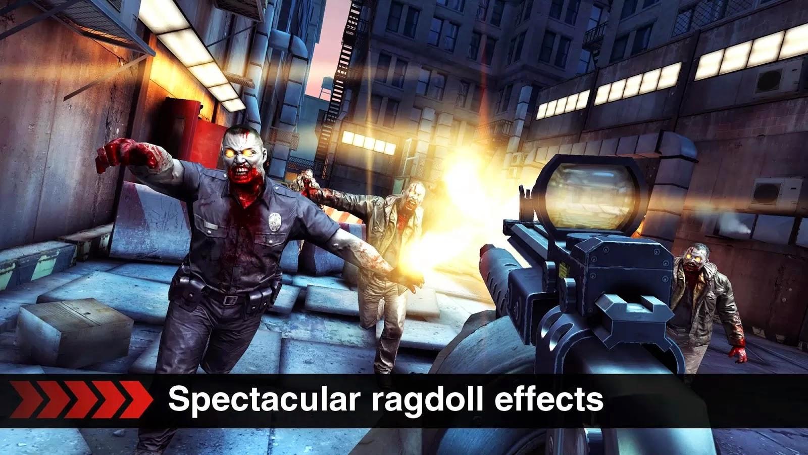 Game Dead Trigger Mod Apk (Unlimited Money) Terbaru 2015