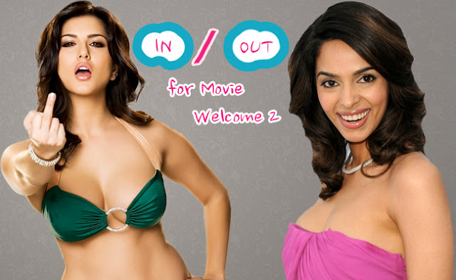 Sunny Leone In Upcoming Movie 'Welcome 2′