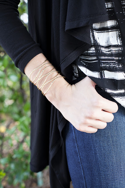 Graphic Flare | Fall Outfit Post with Amy West featuring Anthropologie | Flare Leg Jeans