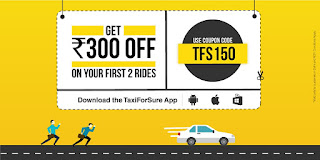 Taxiforsure Rs. 150 Off On First Two Ride [Delhi-NCR]