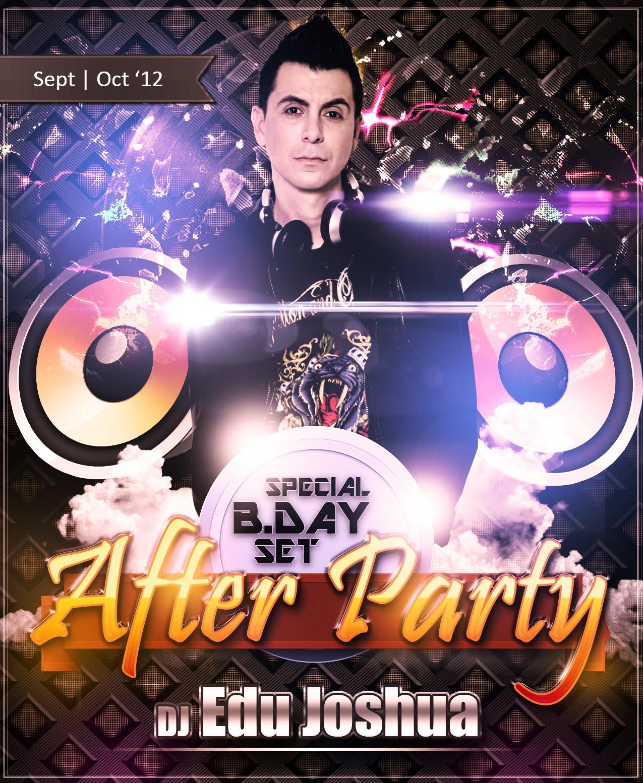 Dj Edu Joshua Set (Set - Out - '12) - AFTER PARTY!!!!!