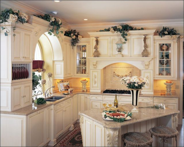 The excellent Decorating ideas glaze kitchen cabinets pics