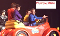 wiggles bog red car