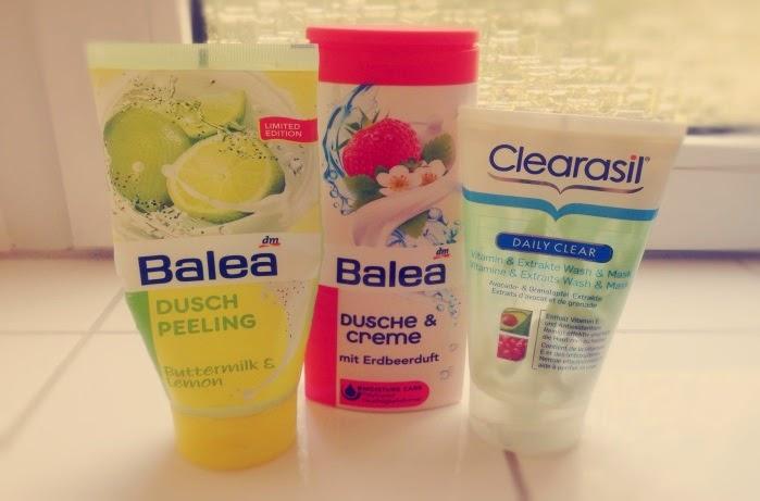 Balea und Clearasil Produkte