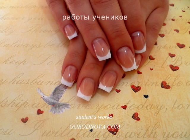 Курсы наращивания ногтей акрилом в москве