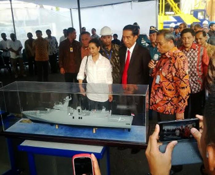 Kunjungan Presiden Jokowi Ke PT Pal