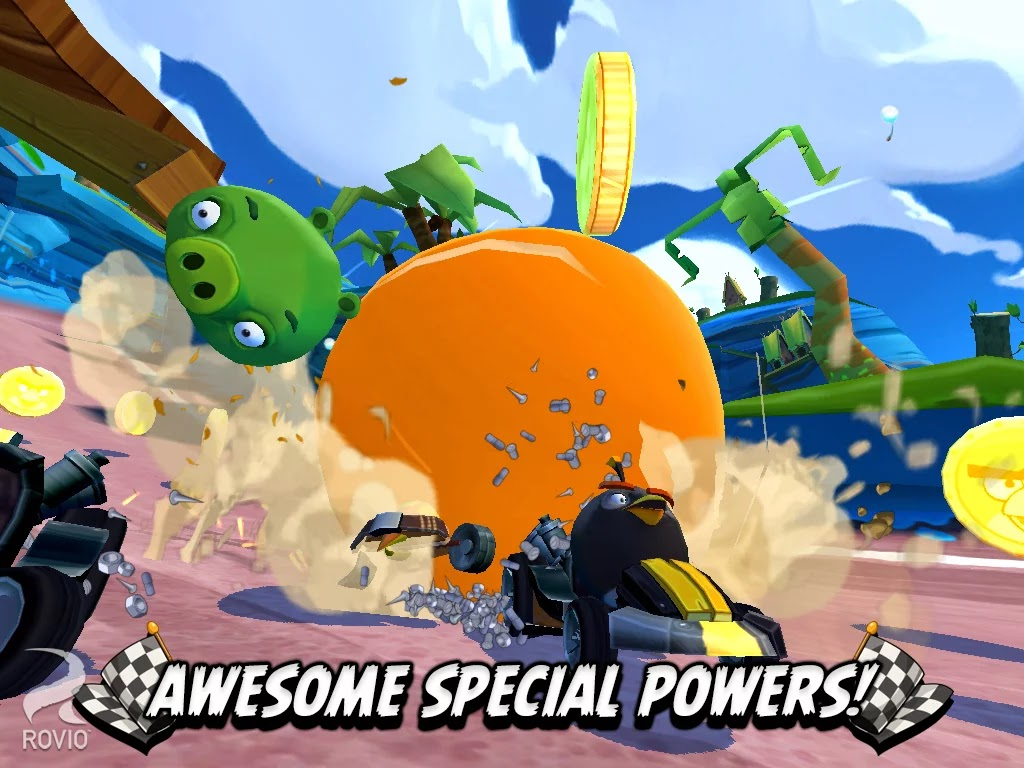 Screenshot Angry Birds Go