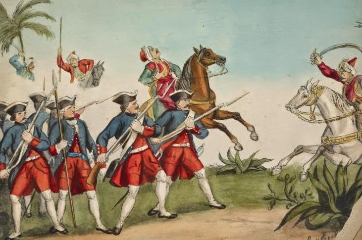 Lupte intre austrieci si turci