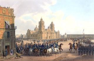 ingreso de las tropas estadounidenses a la ciudad de mexico durante la guerra con estados unidos