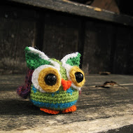 Colorful Amigurumi Owl