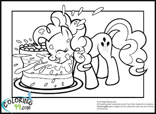 mlp pinkie pie coloring pages