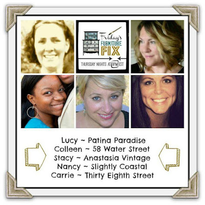 furniture contest, link party, link up party, #fridaysfurniturefix, diy, refinished furniture, furniture inspiration