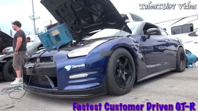 ΒΙΝΤΕΟ: GT-R 2.000PS γλίστρησε στο δρόμο από λάδια σε αγώνα dragster !