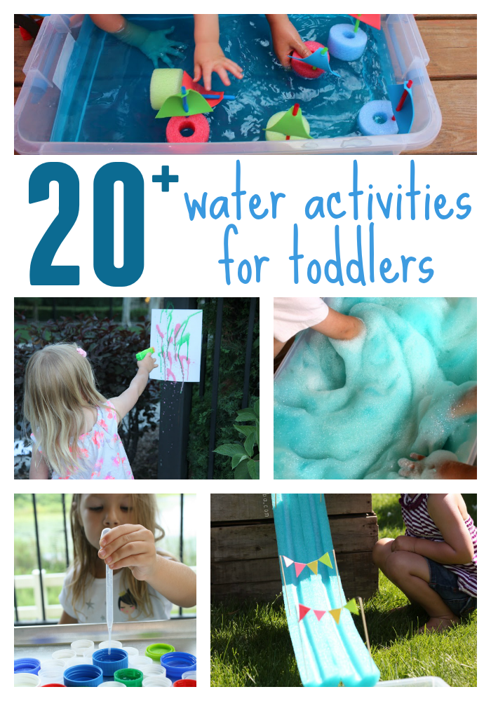 These 20 Water Activities Are Pretty Simple And Can Be Set Up Quickly They Use In Both Solid Liquid Form Mixed With Other Things