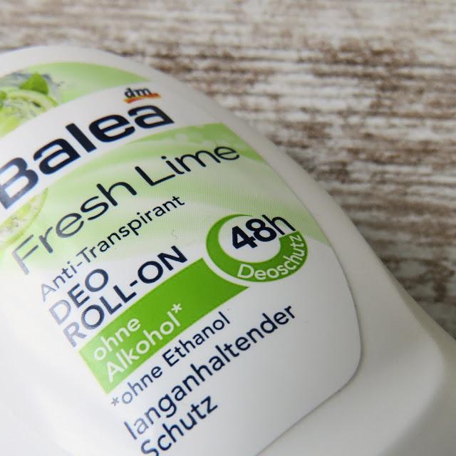 BALEA Anti-transpirant Deo Roll-On Fresh Lime