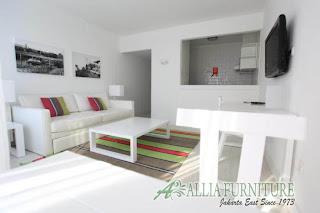 Cantiknya interior ruang si putih di rumah