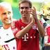 """Lahm: """"Seria perfeito se o ciclo do Guardiola no Bayern terminasse com a tríplice coroa"""""""