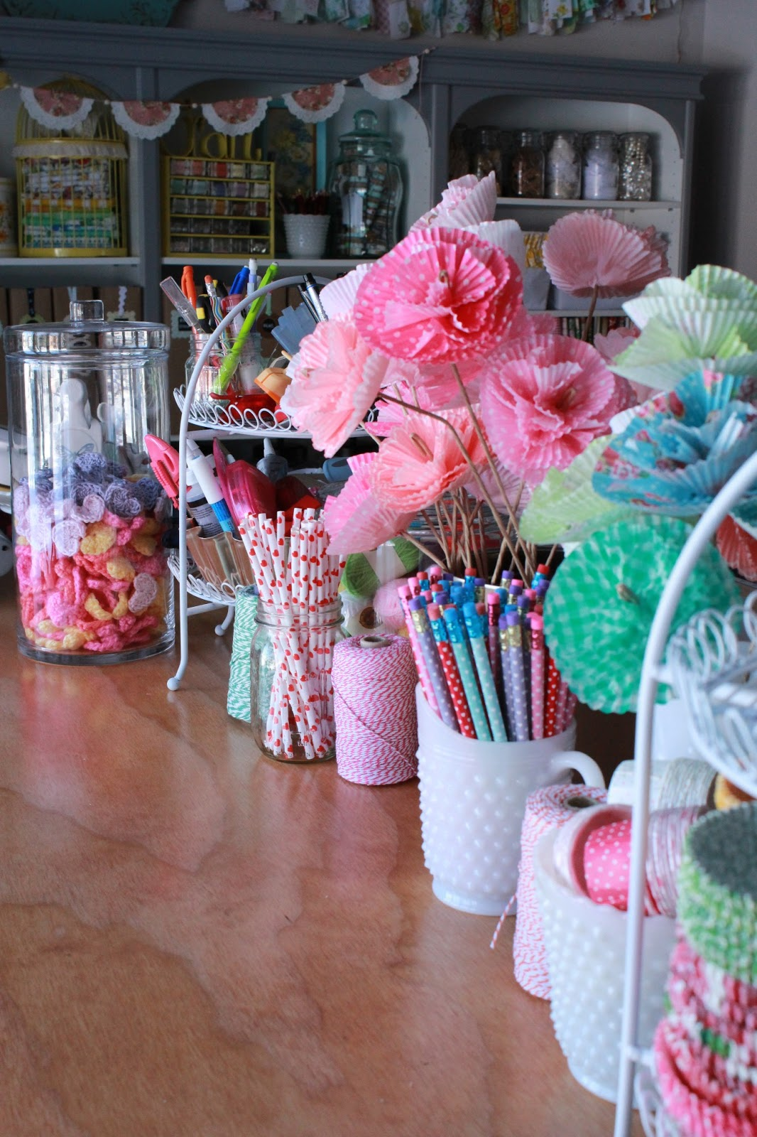 Raising up rubies blog cupcake paper flowers jeuxipadfo Gallery