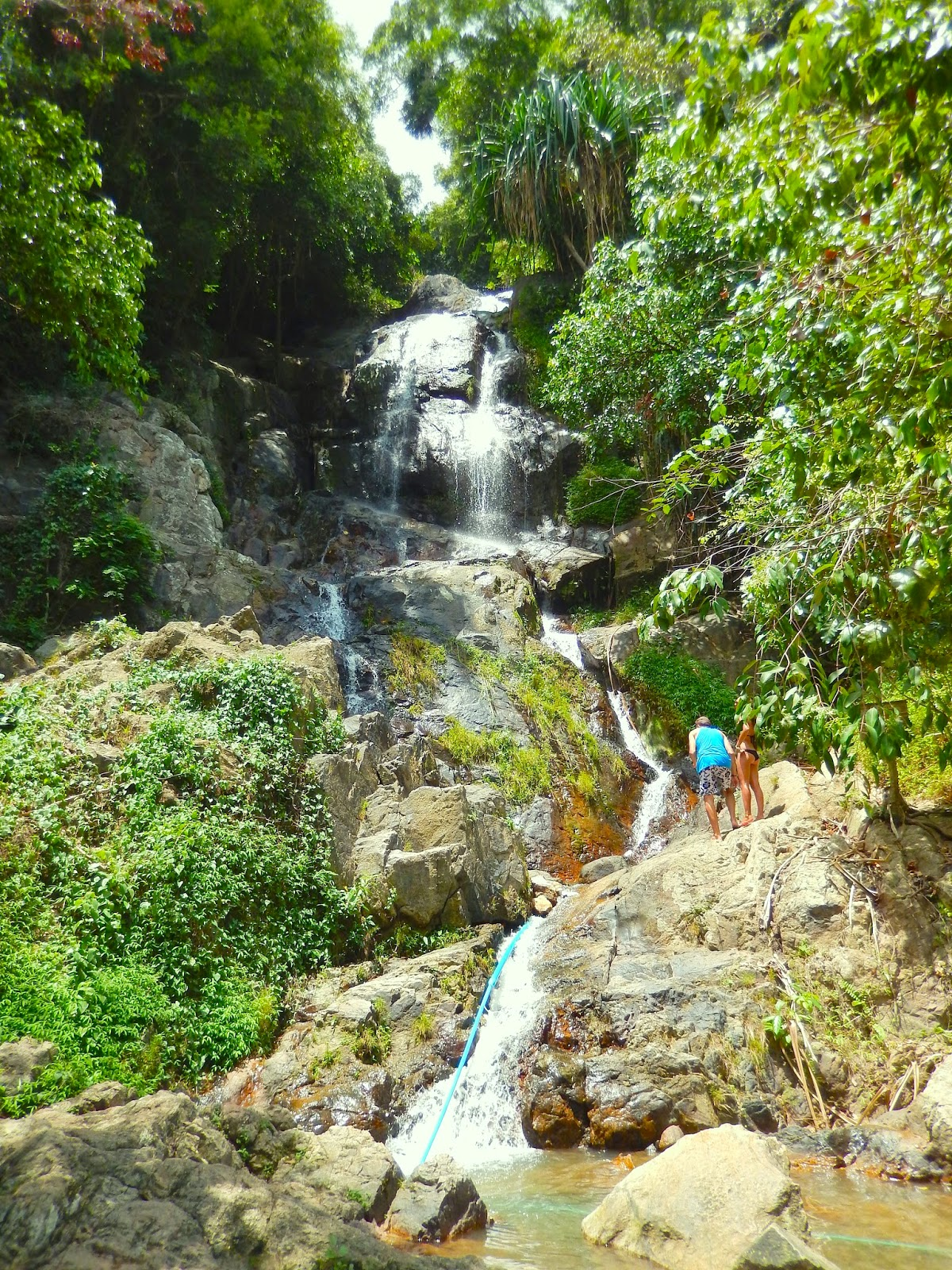 Nhatrang waterfalls