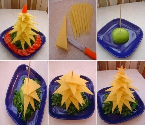 Сырная ёлка фото