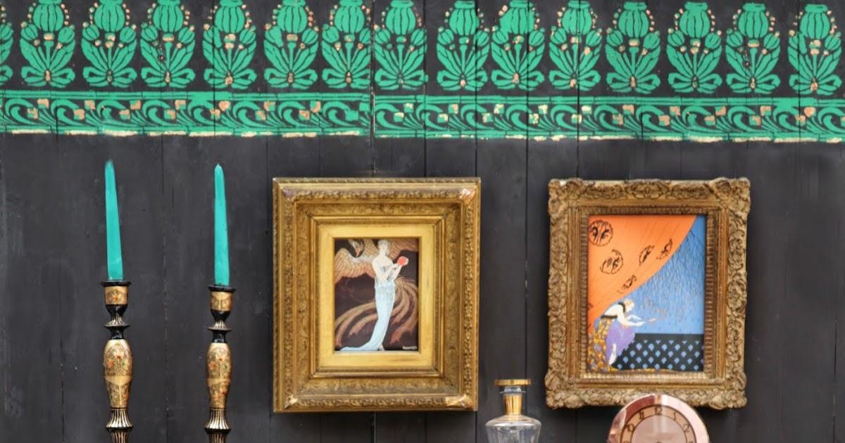 Annie sloan paint colour janice issitt 39 s art deco room for Art deco colours for painting