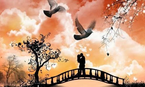 كيف احافظ على حبيبي - حب عشق رومانسية طائر الحب رجل امرأة يقبلان بعض - man woman kiss love bird