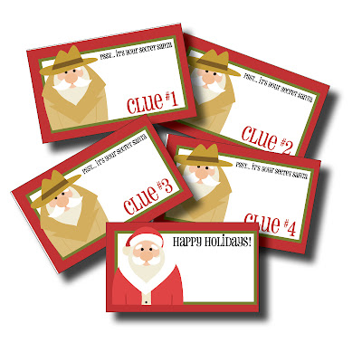 May I Propose A Postcard Free Printable Secret Santa Gift Tags