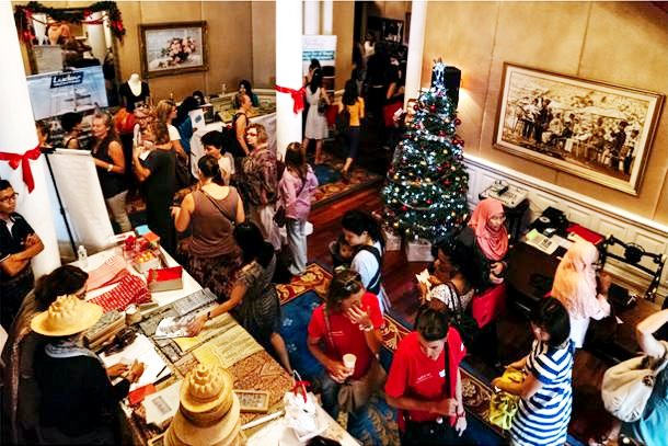 Charity: French Charity Christmas Bazaar - Le Marche De Noel 2015