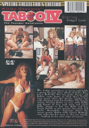 Taboo The Younger Generation Ginger Lynn Back
