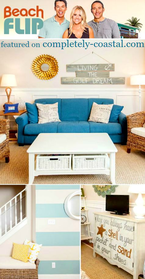 Hgtvs beach flip homes with decor by joss main completely coastal Home decor joss and main