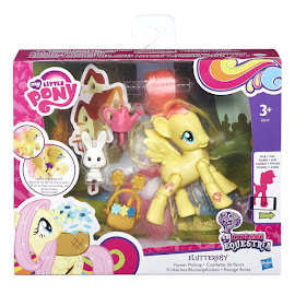MLP Action Play Pack Wave 1 Fluttershy Brushable Figure